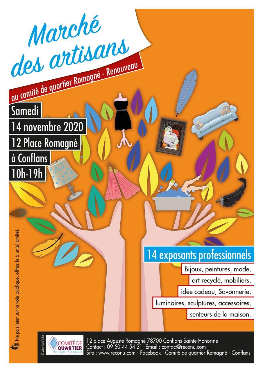 Affiche marche des artisans nov 2020