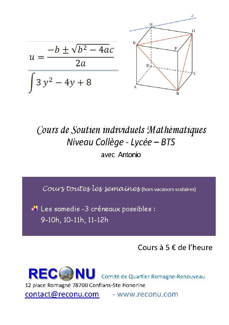 Affiche maths