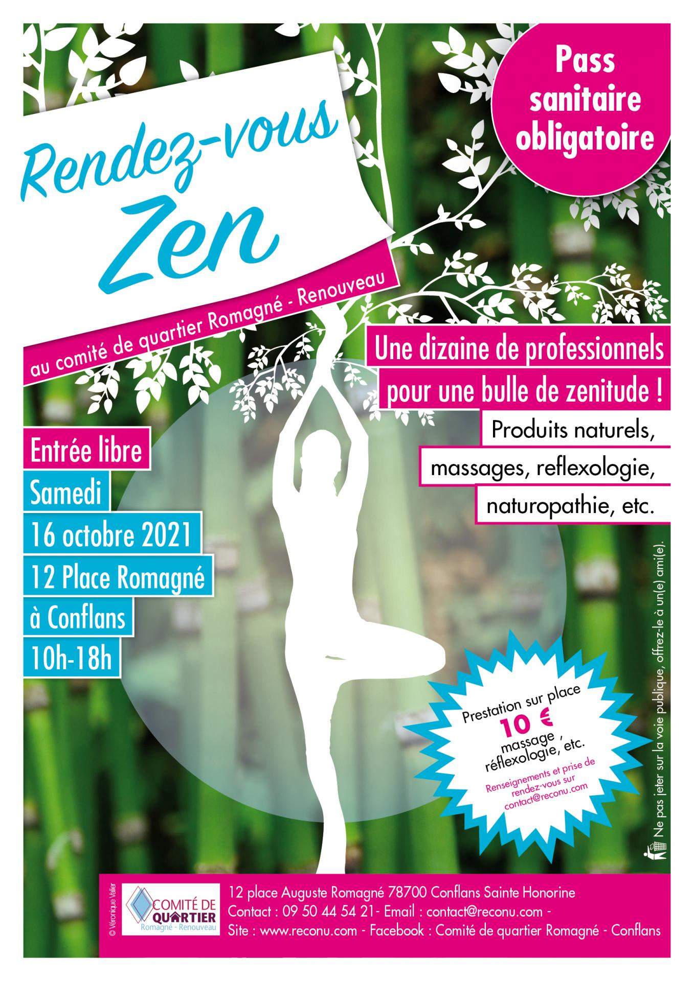 Affiche rendez vous zen oct 2023