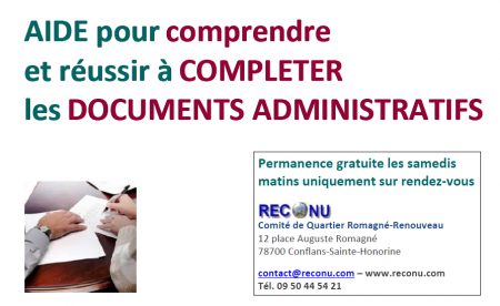 Aide completude dossier administratif