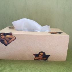 Décoration boîte de mouchoirs