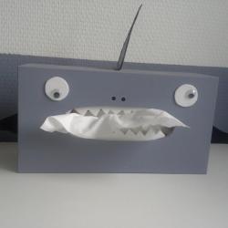 Boîtes de mouchoirs animaux/monstres