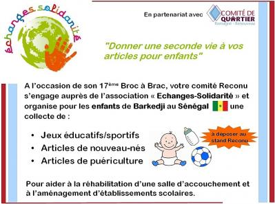 Echanges solidarite